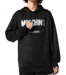 Moschino Black Logo Graphic Sweatshirt