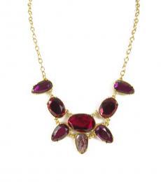 Ralph Lauren Multi color Semi Precious Stone Necklace