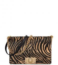 Furla Brown Mimi Small Shoulder bag