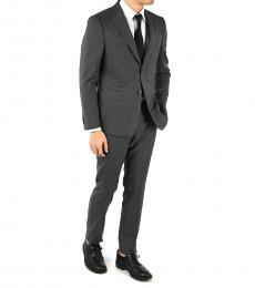 Ermenegildo Zegna Grey Wool Single Breasted Suit