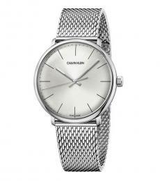 Calvin Klein Silver High Noon Watch