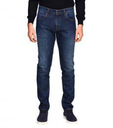 Blue Slim Stretch Light Jeans