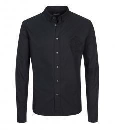 Balmain Black Logo Classic Shirt