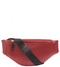 DKNY Bright Red Jude Sling Bag
