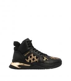 Balmain Black B-Ball Sneakers