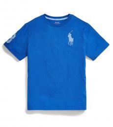 Boys Travel Blue Big Pony T-Shirt