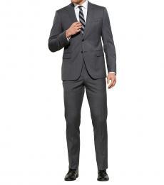 Emporio Armani Dark Grey M-Line Solid Suit