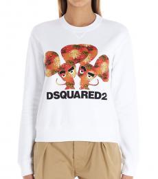 Dsquared2 White Chinese New Year Sweatshirt