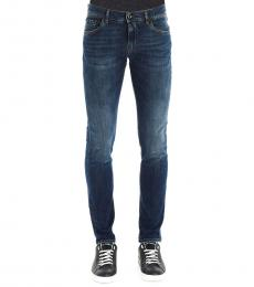 Dolce & Gabbana Dark Blue Slim Fit Jeans