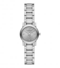 Burberry Silver Classic Logo Watch