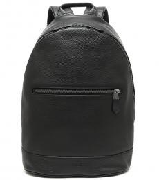 Coach Black West Slim Large Backpack