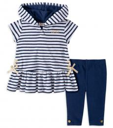 Juicy Couture 2 Piece Tunic/Leggings Set (Little Girls)
