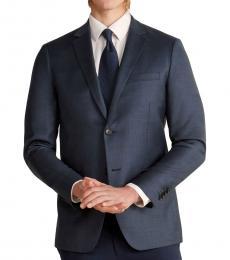 Theory Dark Blue Enderby Wool Jacket