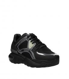 Fendi Black Sporty Sneakers