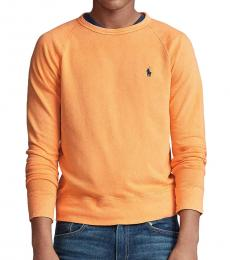 Ralph Lauren Mustard Spa Terry Sweatshirt