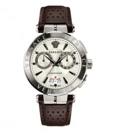 Versace Brown Chronograph Aion Watch