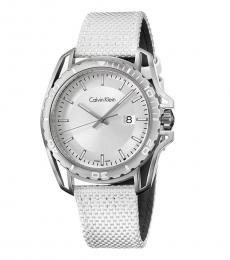 Calvin Klein White Earth Quartz Watch