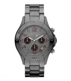 Marc Jacobs Silver Chronograph Watch