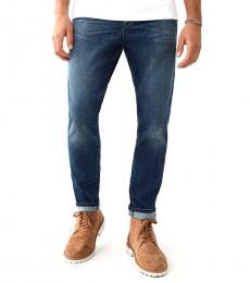 Blue Mick Slouchy Skinny Jeanss