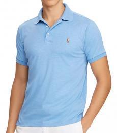 Ralph Lauren Blue Classic Fit Soft Polo