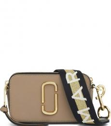 Marc Jacobs French Grey Snapshot Small Crossbody