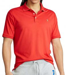Ralph Lauren Red Classic Fit Soft Polo