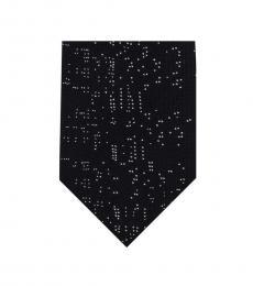 DKNY Black High Rise Starlight Tie