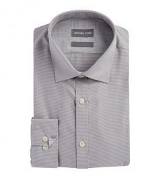 Michael Kors Ash Herringbone Button-Down Shirt