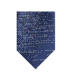 DKNY Navy Blue Degrade Print Tie