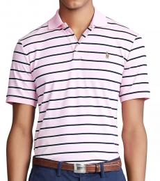 Ralph Lauren Rose Classic Fit Striped Polo