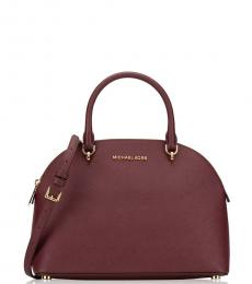 Michael Kors Merlot Emmy Medium Satchel