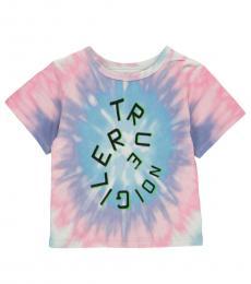 True Religion Little Girls Multi Tie-Dye T-Shirt
