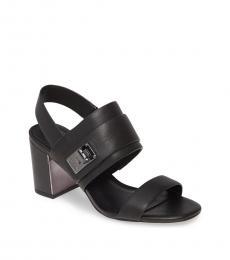 Black Jaylynn Block Heels