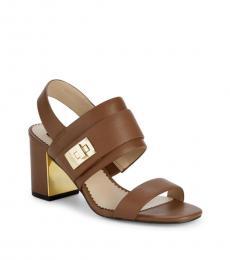 Sienna Brown Jaylynn Block Heels
