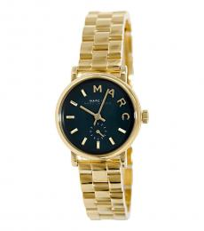 Marc Jacobs Gold Baker Mini Gold-Tone Watch