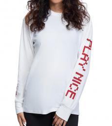 True Religion White Play Nice T-Shirt