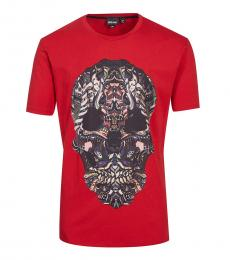 Red Graphic Print T-Shirt
