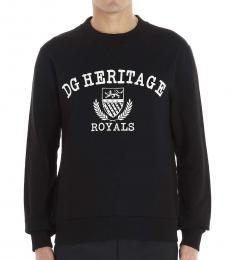 Black Dg Heritage Sweatshirt