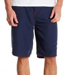 Navy Big T Board Shorts
