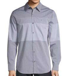 Calvin Klein Grey Colorblock Shirt