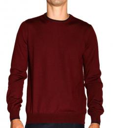 Cherry Patched Wool Sweater