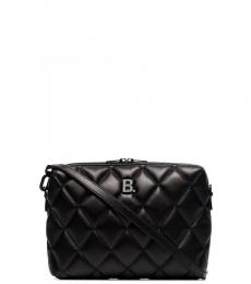 Black Quilted Small Crossbody