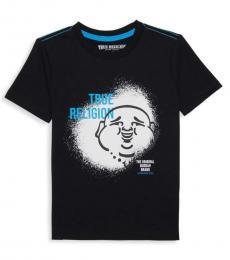 True Religion Little Boys Black Buddha Graphic T-Shirt
