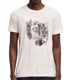 White Nyc Metro Map T-Shirt