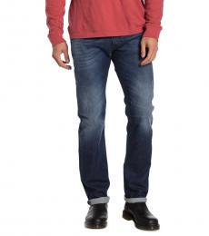 Diesel Dark Blue Safado Straight Leg Jeans