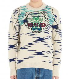 Kenzo Off White Claw Tiger Sweater