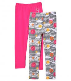 Betsey Johnson 2 Piece Leggings Set (Little Girls)