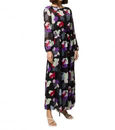 Multicolour  Floral Print Maxi Dress