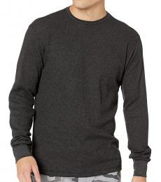 Black Essential Thermal Sweater