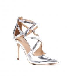 Michael Kors Silver Catia Heels